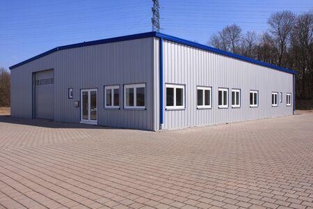 Nouveau bâtiment d'usine
