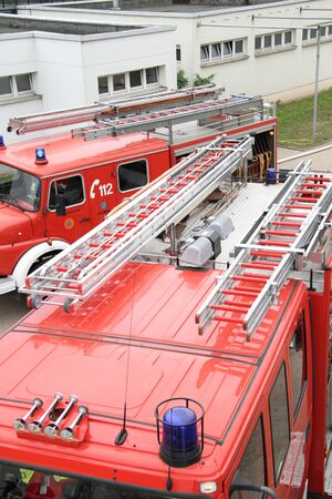 Firefighters use the youth fire department