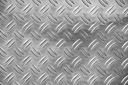 Sheet metal as a background
