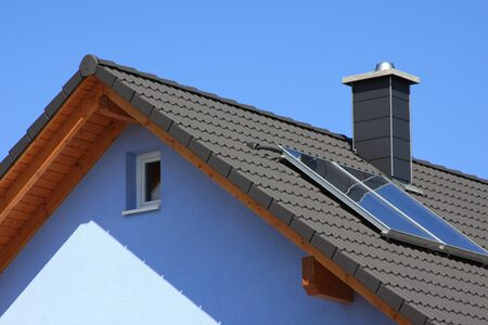 House with roof window