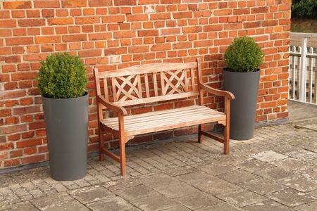 A nice garden bench Banque d'images