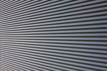Background corrugated iron facade