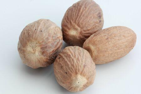 Nutmegs in the market