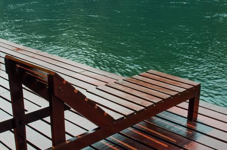accommodation: Raft House is a popular local accommodation for tourists, Kanjanaburi