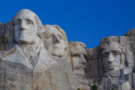 Mount Rushmore National Memorial Summer Day