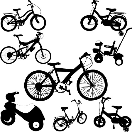 bicycles Stock Vector - 17575785
