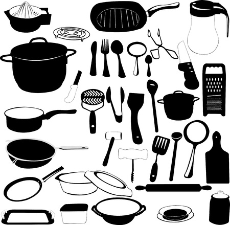 skillet: kitchen tools collection