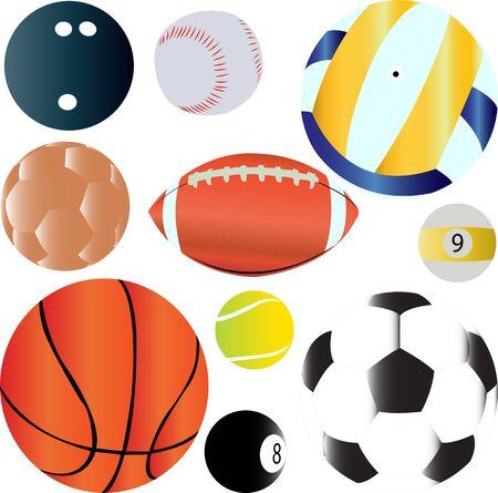 sport ballen set