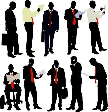 business man collection Reklamní fotografie - 17575793