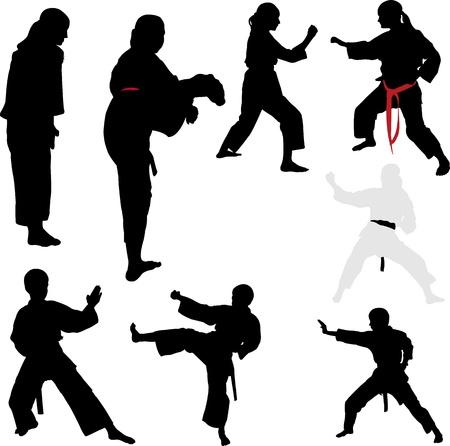 Karate-K?mpfer - Vektor