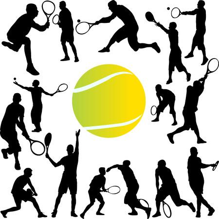 tennisser collectie - vector