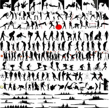 Sport big Kollektion - Vektor Illustration