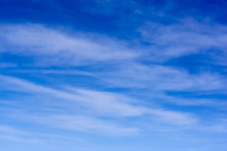 cirrus: Blue sky and high level cirrus clouds