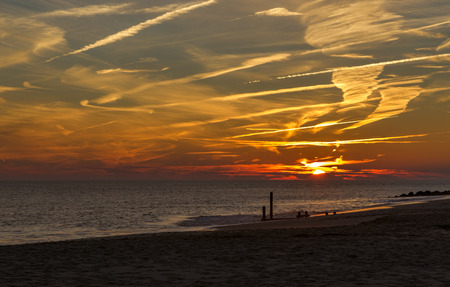 Sunset at Cape May Point New Jersey Shore