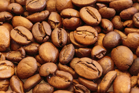 large bean: roasted coffee beans