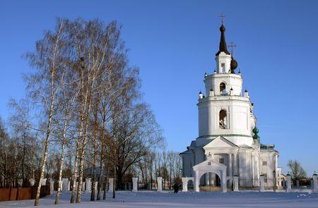 boldino: Russian church at winter