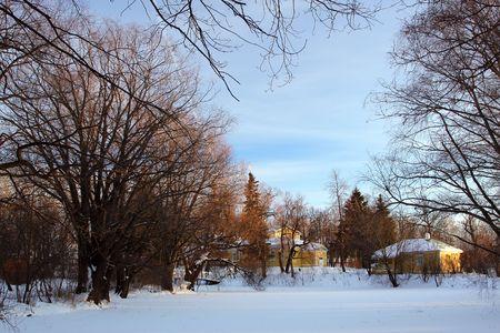 boldino: Winter in Boldino national park, Russia