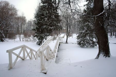 boldino: Park after snowstorm