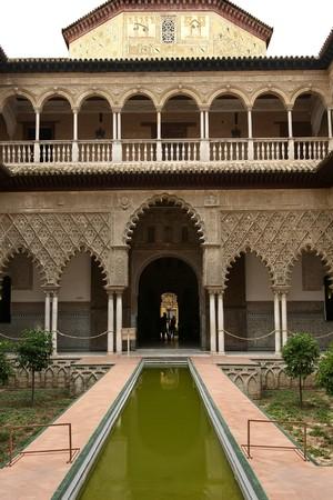 sevilla: Alcazar in Sevilla, Spanje Stockfoto