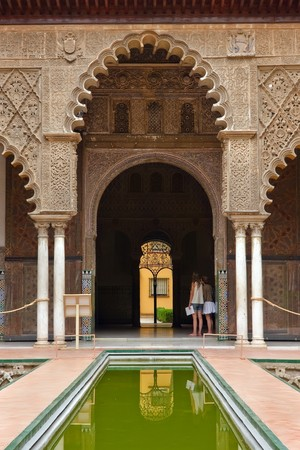 Alcazar in Sevilla, Spain photo