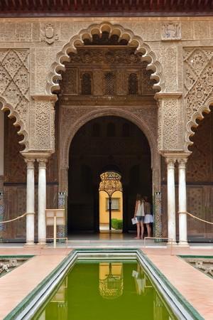 alcazar: Alcazar in Sevilla, Spain