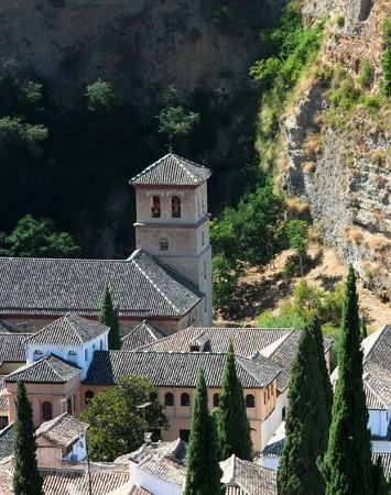 Near the Alhambra, Granada, Spain photo