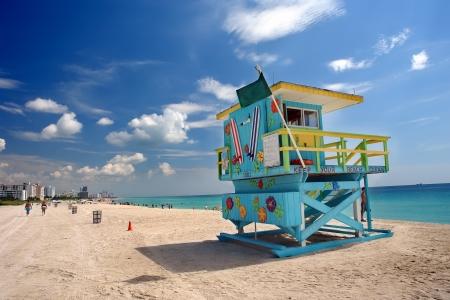lifeguard: South Beach Miami, Florida