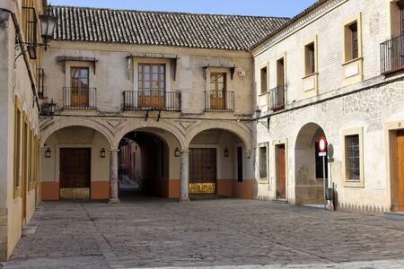 sevilla: Patio in de oude stad, Sevilla, Spanje