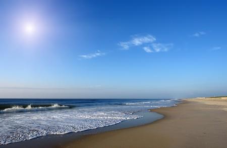 md: Beach, Atlantic ocean coast, MD, USA