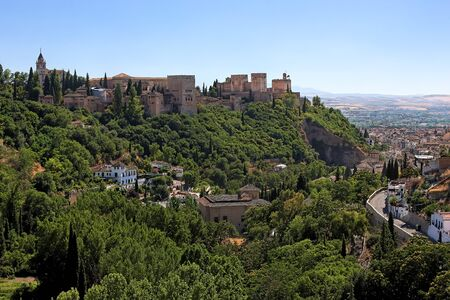 View on Alhambra and Granada, Spain Stock Photo - 4495961