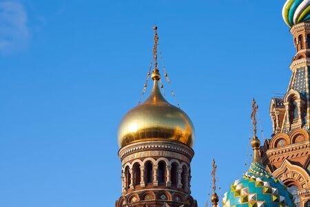 The Church of the Savior on Spilled Blood, St. Petersburg, Russia photo