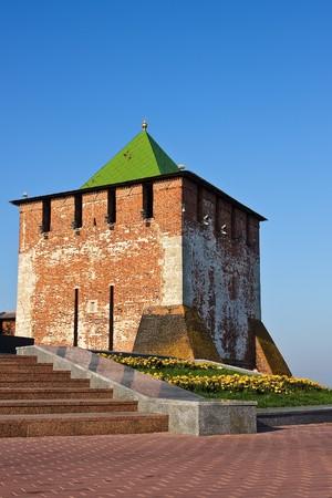 GeorgievskayaTower of Nizhny Novgorod kremlin, Russia photo