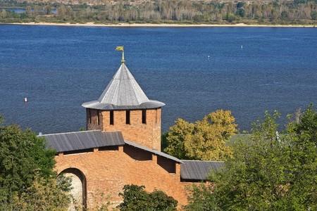Red-brick kremlin, Nizhny Novgorod, Russia Stock Photo - 4550837
