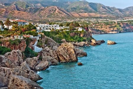 nerja: Mar Mediterr�neo, Nerja, Espa�a