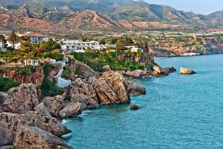 Mediterranean Sea, Nerja, Spain
