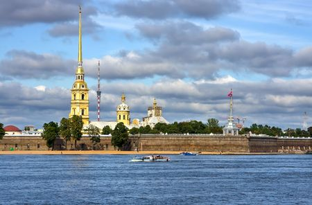 piter: The Peter and Paul Fortress, St.Petersburg, Russia