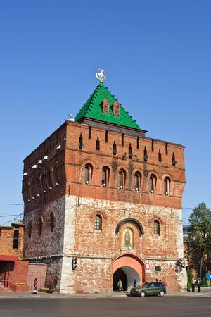 Dmitrovskaya tower of Nizhny Novgorod kremlin, Russia Stock Photo - 4646963