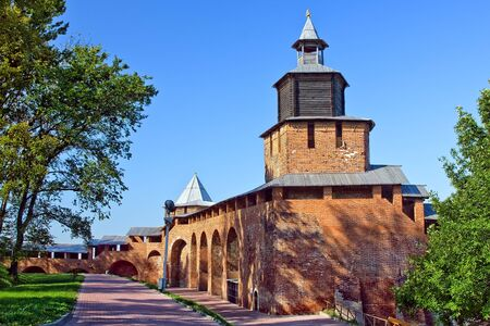 Chasovaya tower of Nizhny Novgorod kremlin, Russia Stock Photo - 4646956