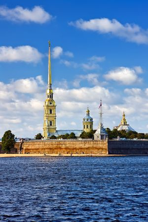 The Peter and Paul Fortress, St. Petersburg, Russia Stock Photo - 4707522