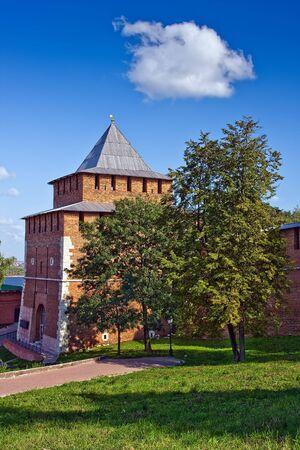 Ivanovskaya tower of Nizhny Novgorod kremlin, Russia Stock Photo - 4753781