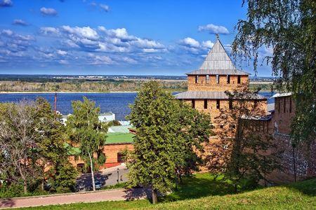 novgorod: Nizhny Novgorod kremlin, Russia