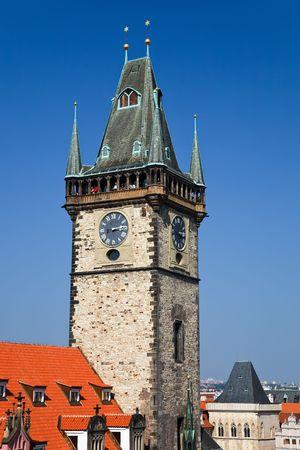 Old town hall, Prague, Czech Republic Stock Photo - 4790663