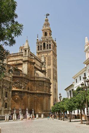 la: La Giralda, Sevilla, Spain Stock Photo