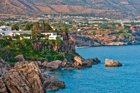 nerja: Mediterranean Sea, Nerja, Spain