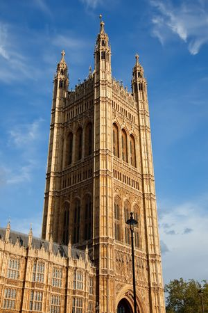 Victoria Tower, Houses of Parliament, London, UK Stock Photo - 5236853