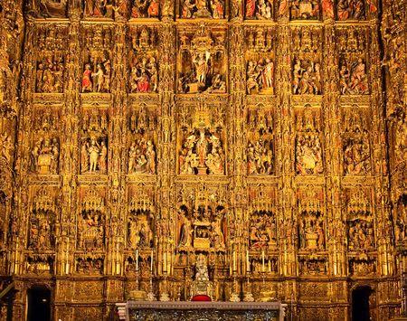 retablo: Retablo de la Catedral de Sevilla (la obra maestra de Pierre Dancart), Espa�a