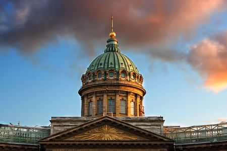 Dome of Kazan Cathedral, St. Petersburg, Russia Stock Photo - 5380779