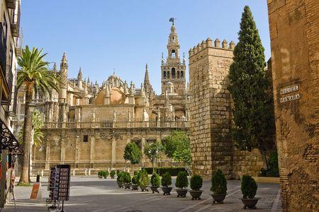 la: La Giralda, Sevilla, Spanien