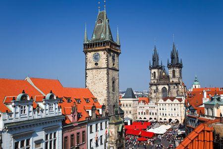 Old Town Square, Prague, Czech Republic Stock Photo - 5541406