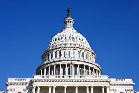 Dome of the US Capitol, Washington DC photo